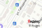 Схема проезда до компании ФасадСтройКомплект, ТОО в Астане