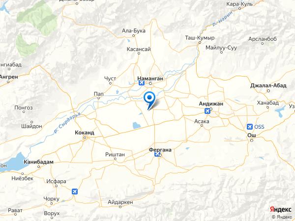населённый пункт Акбаш на карте