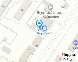 Схема местоположения почтового отделения 646736
