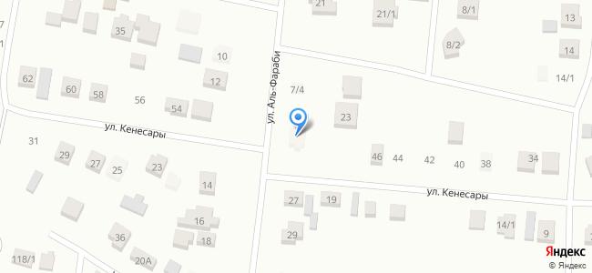 Казахстан, Акмолинская область, Аршалынский район, село Жибек Жолы, улица Аль-Фараби