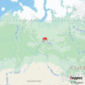 Weather station HM-18 in Khanty-Mansi Autonomous Area, Russia