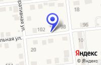 Схема проезда до компании МАГАЗИН ПРОДУКТЫ в Москаленках