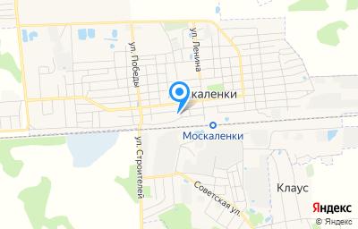 Местоположение на карте пункта техосмотра по адресу Омская обл, рп Москаленки, ул Линейная, д 102
