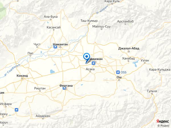 село Кипчак на карте