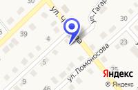 Схема проезда до компании МУП ТЕПЛОВЫЕ СЕТИ в Оконешникове