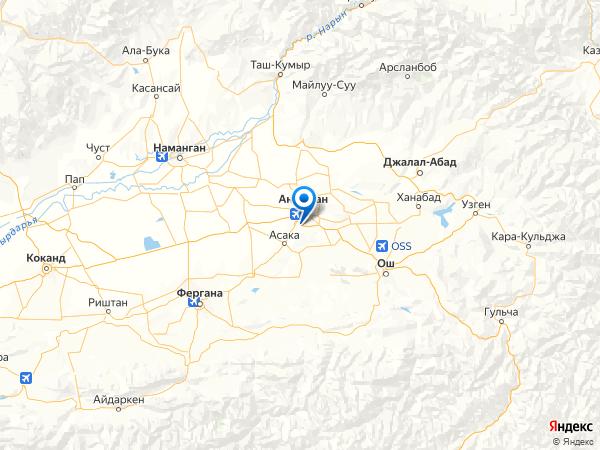 городской посёлок Гумбаз на карте