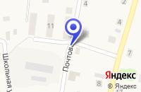 Схема проезда до компании МП СОЦИАЛЬНЫЙ ЦЕНТР ТЕВРИЗЖИЛСЕРВИС в Тевризе
