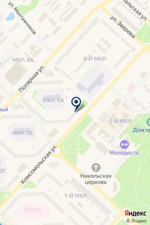 БАНКОМАТ ГАЗПРОМБАНК на карте Надыма