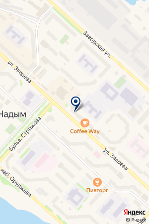 АВДИУС на карте Надыма