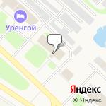 Магазин салютов Надым- расположение пункта самовывоза