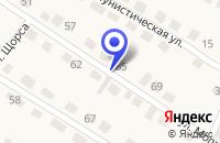 Схема проезда до компании ПРОКУРАТУРА ЛЮБИНСКОГО РАЙОНА в Любинске