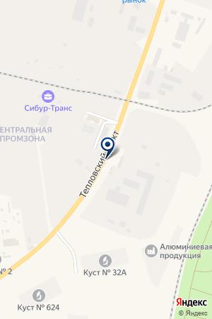 СПОРТИВНО-ТУРИСТИЧЕСКИЙ КЛУБ ВЕРТИКАЛЬ на карте Пыть-Яха