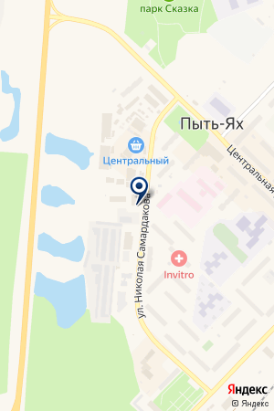 ФИРМА АГИДЕЛЬ на карте Пыть-Яха