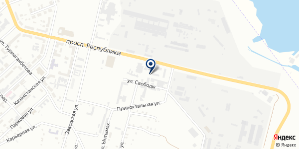 Golden city, ТОО на карте Темиртау