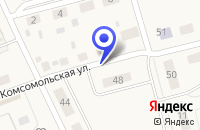 Схема проезда до компании МОУ КРАСНОЯРСКАЯ ДЕТСКАЯ ШКОЛА ИСКУССТВ в Любинске