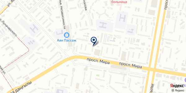 Santehplast на карте Темиртау