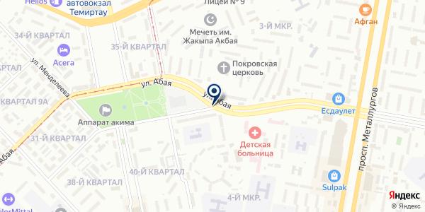 МебельМ.kz на карте Темиртау