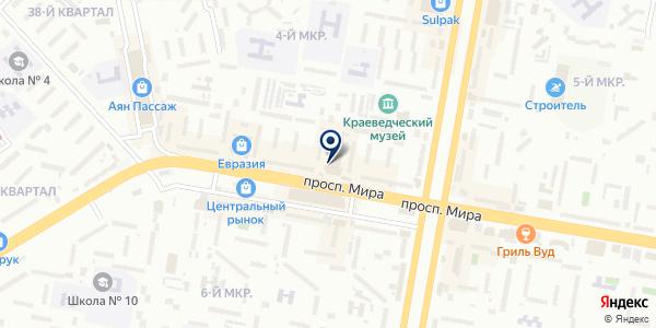 Stereo на карте Темиртау