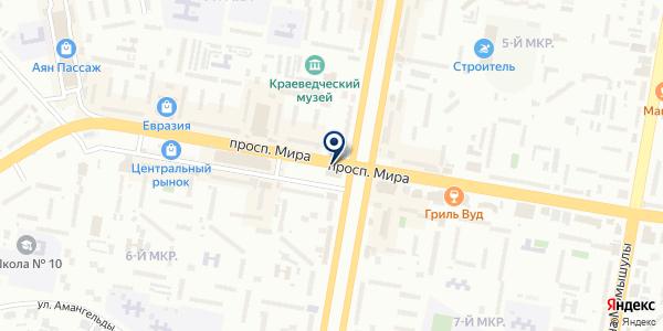 Millenium стройсервис-2009 на карте Темиртау