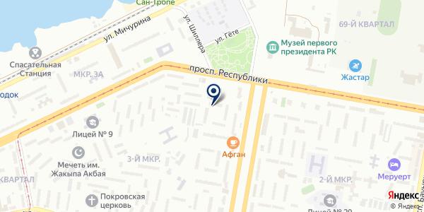 Отдел государственной инспекции труда по г. Темиртау на карте Темиртау