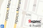 Схема проезда до компании Империя бизнеса в Темиртау