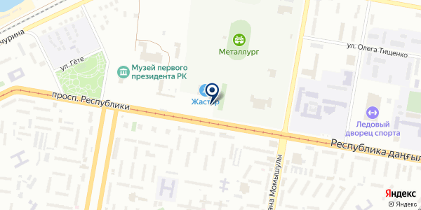 Жастар на карте Темиртау
