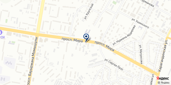 ASV-group Company, ТОО на карте Темиртау