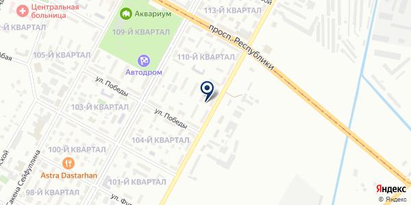 Темиртауская Торговая Компания на карте Темиртау