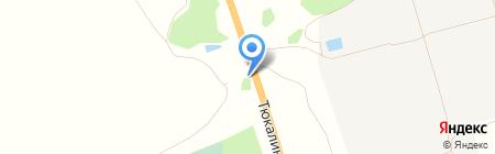 Тахограф-Сервис на карте Омска