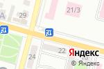 Схема проезда до компании Цветочный рай в Караганде
