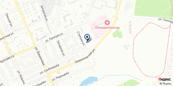 13 отделение на карте Караганде