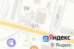 Схема проезда до компании Баня на Сакена в Караганде