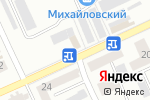 Схема проезда до компании Изба в Караганде