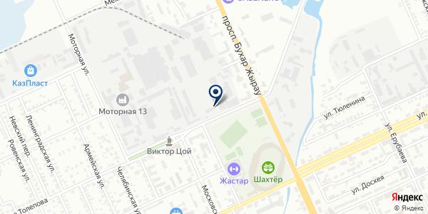Траспортная компания на карте Караганде