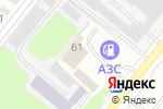 Схема проезда до компании Ажур в Караганде