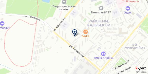 Бизнес Микс, ТОО на карте Караганде