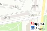 Схема проезда до компании FishNet в Караганде