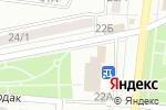 Схема проезда до компании Гянджа в Караганде