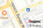 Схема проезда до компании Шик оранж в Караганде