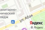 Схема проезда до компании Магазин продуктов в Караганде