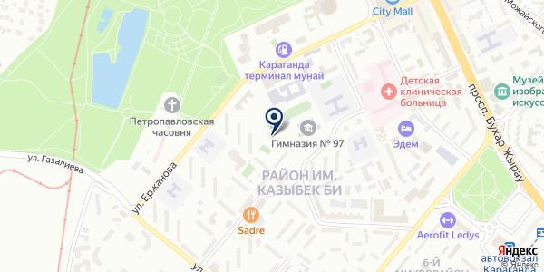 Капитал-Финанс, ТОО на карте Караганде