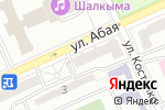 Схема проезда до компании Банкомат, Bank RBK в Караганде