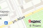 Схема проезда до компании Tengri Bank в Караганде