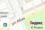 Схема проезда до компании Never Off Service в Караганде