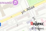 Схема проезда до компании Ежевика в Караганде