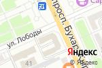 Схема проезда до компании Банкомат, Казпочта в Караганде