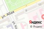 Схема проезда до компании Евровиза в Караганде