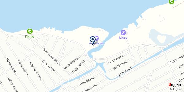 Яхт клуб 2 на карте Караганде