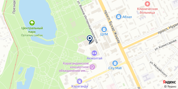 Jethouse на карте Караганде