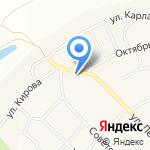 Сбербанк на карте Омска